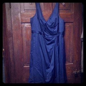 David's Bridal Navy blue dress size 20